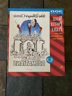 Walt Disney's Classic 101 Dalmatians Movie Poster Puzzle 300