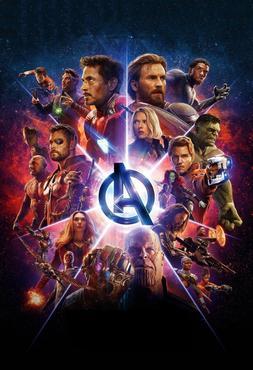 X-30 Avengers : Infinity War Movie All Marvel Heroes Print F