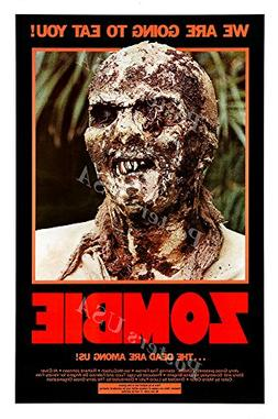 Posters USA Zombie 2 Flesh Eaters Woodoo GLOSSY FINISH Movie